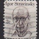 USA 1980 - scott 1845 used - 2c, Igor Stravinsky (A-92)
