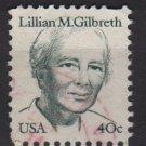 USA 1980 - Scottt 1868 used - 40c, Lillian M Gilbreth  (A-104)