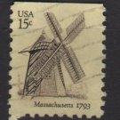 USA 1980 - Scottt 1740 used - 15c, Windmilll, Massachusetts (A-113)