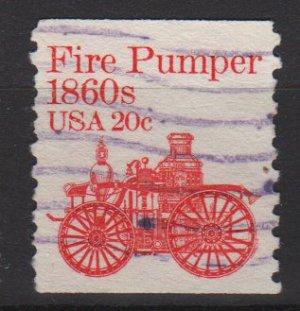 USA 1981 - Scott 1908 used - 20c, Fire Pumper (A-127)