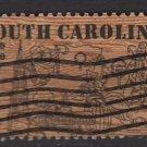 USA 1970 - Scott 1407 used  - 6c, South Carolina issue (B-777)