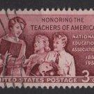USA 1957 - Scott 1093 used - 3c, School Teachers  (J-546)