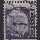 USA 1965 - Scott 1285 used - 8c, Albert Einstein (Red-280)