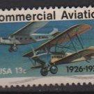 USA 1976 - Scott 1684 used - 13c, Commercial Aviation (o-44)