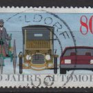 Germany 1986 - Scott 1453 used - 80pf, Automobile Centenary  (7-16)