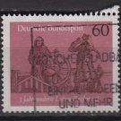 Germany 1979 - Scott 1302 used - 60pf, Centuries of Pilot's regulations (7-3)
