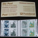 Germany 1987/96 - Scott 1530a Booklet pane of  8 Mint - Historic sites (ma-104)