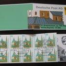 Germany 1987/96 - Scott 1530c Booklet pane of 10 CTO - 100pf, Historic sites (ma-105)