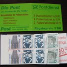 Germany 1987/96 - Scott 1528a  Booklet pane of 8 Mint - Historic sites (ma-108)