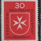Germany 1969 - Scott 1006  MNH-  30 pf, Maltese Cross (Co-709)