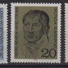 Germany 1970 - Scott 1014-1016 (3) MNH - Portraits (Co-722)