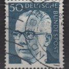 Germany 1970 - Scott 1033 used - 50 pf, Pres. G. Heinemann (Ra-517)