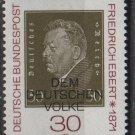 Germany 1971 - Scott 1053 MNH - 30 pf, Friedrich Ebert (S-190)