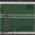 Germany 1971 - Scott 1064 used - 20pf, Europa (T-239)
