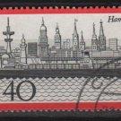 Germany 1973 - Scott 1107 used - 40 pf, Hamburg Harbor (2 - 64)