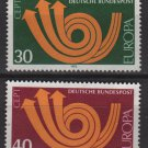 Germany 1973 - Scott 1114 & 1115 used - Europa Common design (2-466)