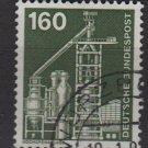 Germany 1975/82 - Scott 1185 used - 160pf, Blast furnace (3-95)