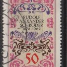 Germany 1978 - Scott 1265 used - 50pf, Book Cover by Alexander Schroder (4-72)