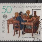 Germany 1979 - Scott 1291 used - 50pf, Europa, telegraph (C-711)