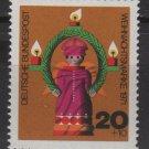 Germany 1971 - Scott B480 MNH - 20pf + 10pf, Christmas  (G-689)