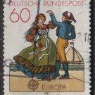 Germany 1981 - Scott 1350 used - 60 pf, Europa  (6 - 541)