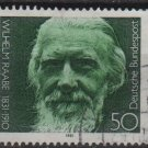 Germany 1981 - Scott 1357 used - 50pf, Wilhelm Raabe (5-351)