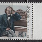 Germany 1983 - Scott 1394 MNH - 80pf, Johannes Brahms   (7 - 450)