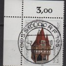 Germany 1984 - Scott  1412 CTO - 60pf, Michelstadte town Hall (9-305)