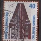 Germany 1987 - Scott 1521 used - 40pf, Chile House Hamburg (11-642)