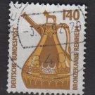 Germany 1987 - Scott 1532 used - 140pf, Reinheim Bronze (12-609)