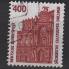 Germany 1987 - Scott 1538 used - 400pf,  Opera House Dresden (12-631)