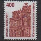 Germany 1987 - Scott 1538 MNH - 400pf,  Opera House Dresden (F-598)
