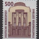 Germany 1987 -Scott 1540 MNH - 500pf, State Theater Cottbus (5-383)