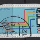 Germany 1988 - Scott 1553 used - 80 pf, Europa, ISDN (12-693)