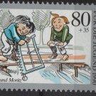 Germany 1990 - Scott B691 MNH - 80 + 35 pf, Max & Moritz (13-65)