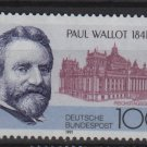 Germany 1991 - Scott 1653 MNH - 100 pf, Paul Wallot (11-622)