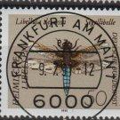 Germany 1991 - Scott 1670 CTO - 50pf, Dragonfly  (13-142)