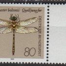 Germany 1991 - Scott 1676 MNH - 80pf, Dragonfly (5-393)