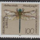 Germany 1991 - Scott 1677 MNH - 100pf, Dragonfly (B-376)