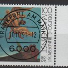 GERMANY 1991 - Scott 1688 CTO - 100 pf, Max Ernst Painting   (13-149)