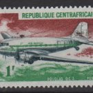 Central African Republic 1967 - Scott 93 MH - 1fr, Douglas  (C-622)