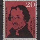Germany 1960 - Scott 809 MNH - 20 pf, Philipp Melanchthon (13-277)