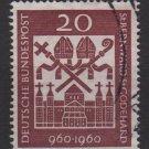 Germany 1960 - Scott 817 used - St Bernard & St Godehard (F-293)