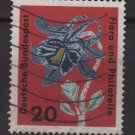 Germany 1963 - Scott  859 used - 20 pf, Flora Philathelic exhibition (13-308)