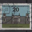 Germany 1964 - Scott 874 used - 20pf, Reichstag, Berlin (13-324)