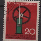 Germany 1964 - Scott 894 used - 20 pf, Gas engine (13-342)