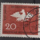 Germany 1964 - Scott 900 used - 20 pf,Prussian Eagle, Account Court (13-347)