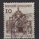Germany 1964 - Scott 903 used - 10 pf, Dresden, Sachsen (13-351)