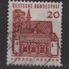 Germany 1964 - Scott  905 used - 20 pf, Lorsch, Hessen (13-353)