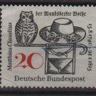Germany 1965 - Scott  917 used - 20pf, Matthias Claudius illustration (13-359)